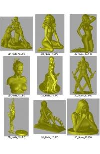 34 Nude Models