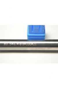 Solid Carbide tapered Ball nose end mill coating R0.5*47*D8*100