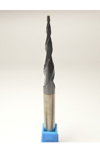 Solid Carbide tapered Ball nose end mill coating R1*47*D8*100